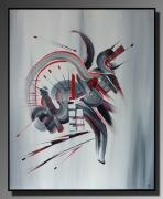 Demo Peinture Acrylique Portrait Au Couteau Contemporain Galerie